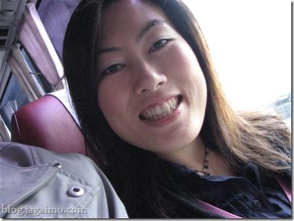 Hiromi en route to Icheon