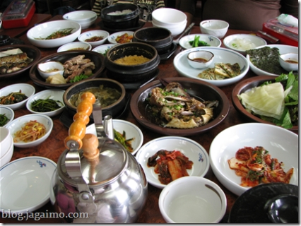 A few side dishes to accompany our meal