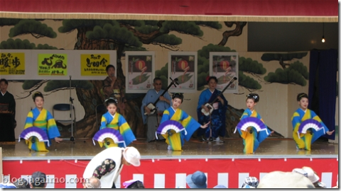 Matsuri folk dance and music