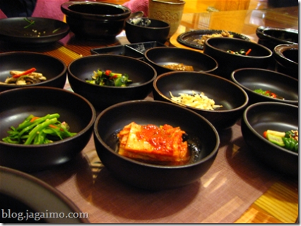 Banchan and Pulhyanggi for the rice course