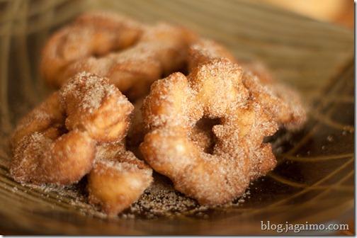 Crullers with Cinammon Sugar