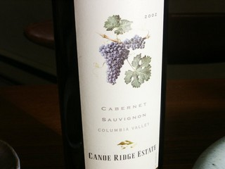 Canoe ridge cabernet