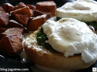 Eggs-florentine-rapini