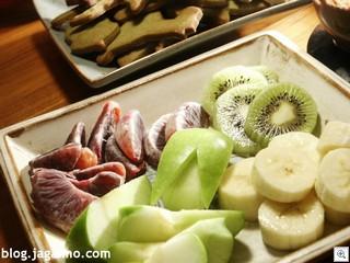 Fondue-fruit