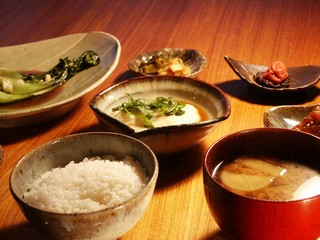 Godoufu meal