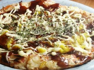 Kabocha cheese okonomiyaki