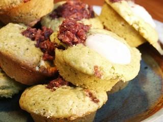 Matcha Muffin plate