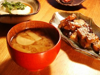Nasu-no miso-ni and misoshiru