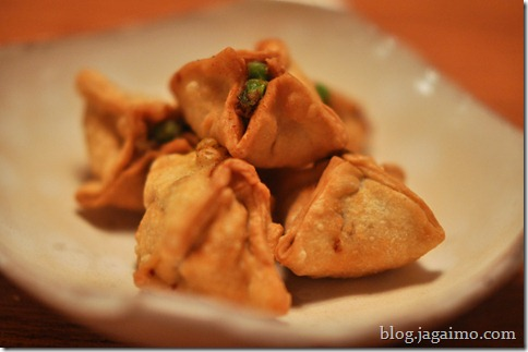 Mini samosas, Night two
