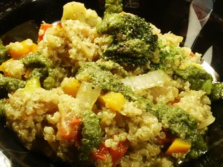 Quinoa dish